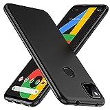 TesRank Coque Google Pixel 4a, Etui Souple Flexible en Premium TPU [Absorption...