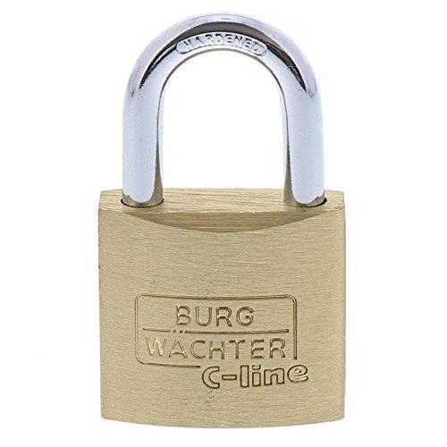 Burg-Wächter Quadro 222 30 GL SB Vorhangschloss-Set, Bügelstärke: 5,0 mm