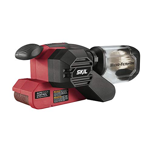 SKIL 7510-01 Sandcat 6 Amp 3-Inch x 18-Inch Belt Sander with Pressure Control