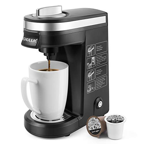 CHULUX Single Serve Coffee Maker Brewer...