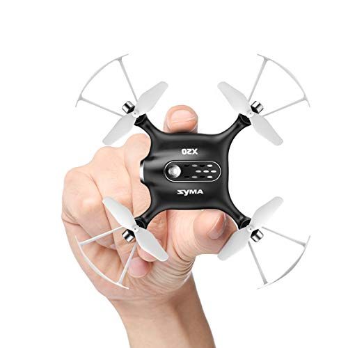 DoDoeleph Syma X20 Pocket Drone 2.4Ghz Remote Control Mini RC Quadcopter with Altitude Hold and One Key Take-off / Landing Black