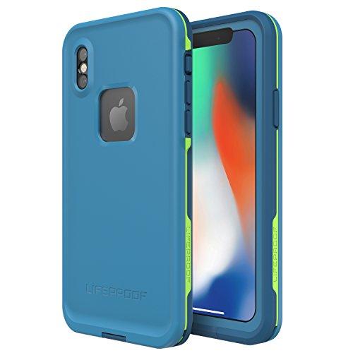 Lifeproof FR SERIES Waterproof Case for iPhone X (ONLY) - Retail Packaging - BANZAI (COWABUNGA/WAVE CRASH/LONGBOARD)