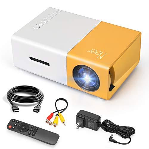 Mini Projector, Meer Portable Pico Full Color LED...