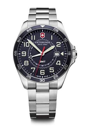 Victorinox FieldForce GMT Quartz Blue Dial Watch 241896