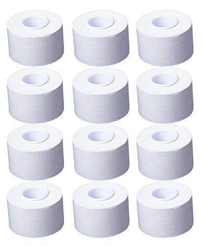 Cawila 12 Rollen Sporttape 3.8 cm x 10 m, weiß