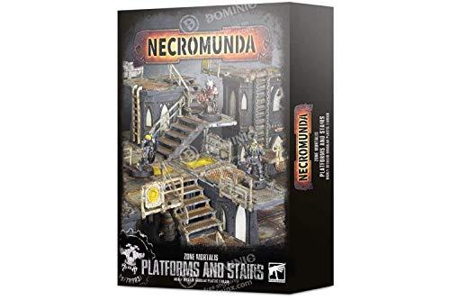Games Workshop Necromunda - Zone Mortalis - Platforms and Stairs