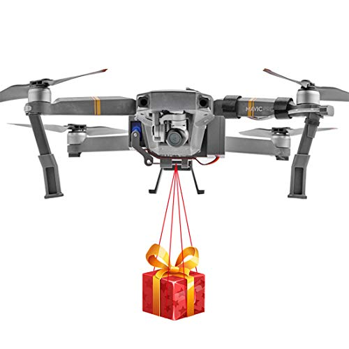 PeleusTech Release and Drop device for DJI MAVIC PRO for Drone Fishing, Bait Release, Payload...