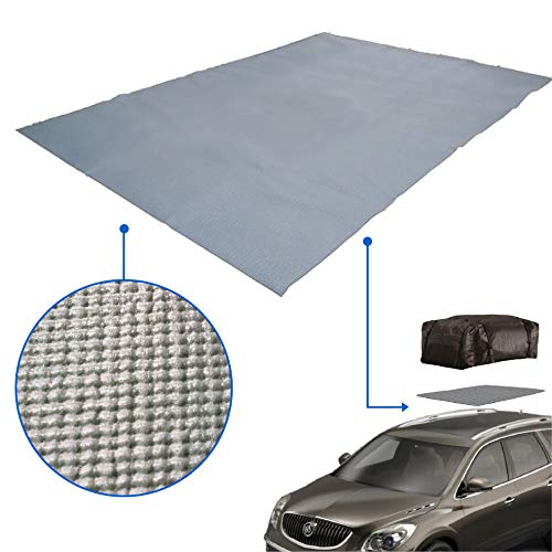 EasyGoProducts Cargo Roof Bag Protective Mat – Car Roof Rack Pad Storage – Padded to Protect car from Roof Storage and Roof Racks (egp-aut-001)