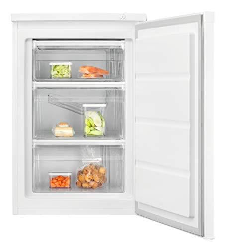 Electrolux LYB1AF8W0 Mini Congelatore Verticale, Altezza 85 cm, Capienza 81 L, Bianco