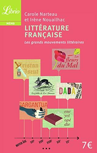 Littérature française: les grands mouvements littéraires