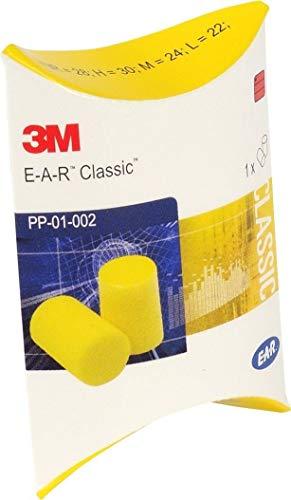 E.A.R. Lot de 20 paires de plugs classiques.