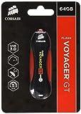Clé USB 3.0 Type Corsair Flash Voyager GT 64 Go Corsair, Durable, Noir /...