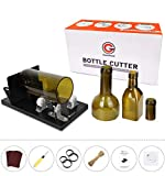 Bottle Cutter, Genround Upgrade 2.1 Glass Bottle Cutter Machine for Round, Square and Oval Bottle Cutting | Cut Bottle from Neck to Bottom | Glass Cutter Bottle Cutting Tool for DIY Projects