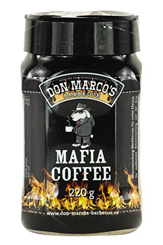 Don Marco's Barbecue Rub Mafia Coffee 220g in der Streudose, Grillgewürzmischung