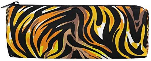 Astucci astratti leopardati zebrati con cerniera per ragazze e ragazzi, borsa da viaggio per il...