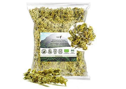 Minotaur Herbs | Bio Griechischer Bergtee aus dem Olymp, geschnitten, 250 g | Premium Qualität aus kontrolliert biologischem Anbau