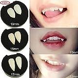 Halloween Cosplay False teeth - 3 Pair Vampire Teeth Fangs Dentures Props Halloween Costume Props Party Favors