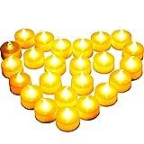 Diyife 24 Bougies à LED, Bougies Chauffe-Plat sans Flamme, Décoration...