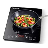 Plaque Induction Portable Amzchef, plaque de cuisson à induction de 2000 W...