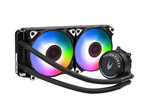 GOLDEN FIELD SF240 RGB All-in-One liquido di raffreddamento CPU con radiatore 240 mm sistema di...