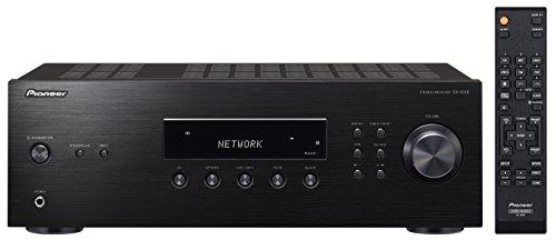 Pioneer Stereo Receiver mit Bluetooth, SX-10AE-B, Direct Energy Design mit 2x 100 Watt, 4 Line-Inputs, Tape- und Subwoofer-Ausgängen, Lautsprecher A/B, UKW-Radio mit 40 Speicherplätzen, schwarz
