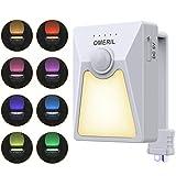 OMERIL Lampe Toilette Automatique, Veilleuse Toilette LED avec Lampe UV De...