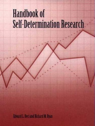 Handbook of Self-Determination Research: 0