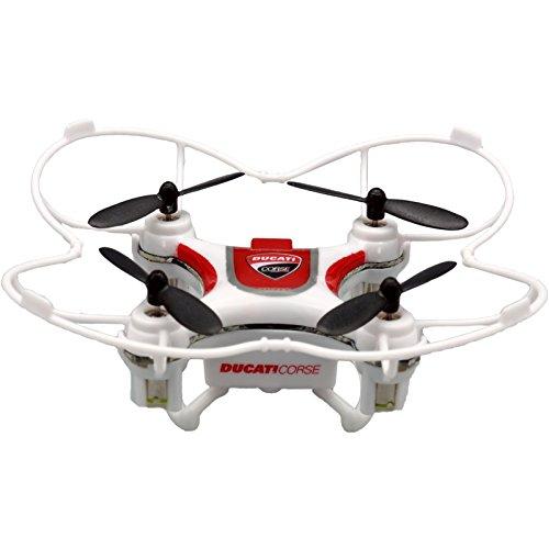 Ducati Corse Mini Drone a Tre velocit Flip & Rolls con Paraeliche Incorporate e Radiocomando, Colore...