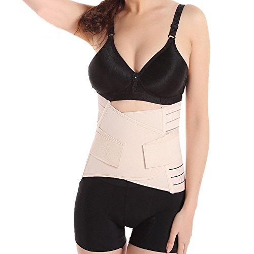 Movingtime, fascia elastica di supporto per rigenerare i muscoli dell'addome nel periodo post-parto, modello con cintura in vita