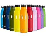 Super Sparrow Borraccia Termica – 350ml   Bottiglia Acciaio Inox Isolamento   Senza BPA - Borracce per Bambini, Scuola, Sport, All'aperto, Palestra, Yoga