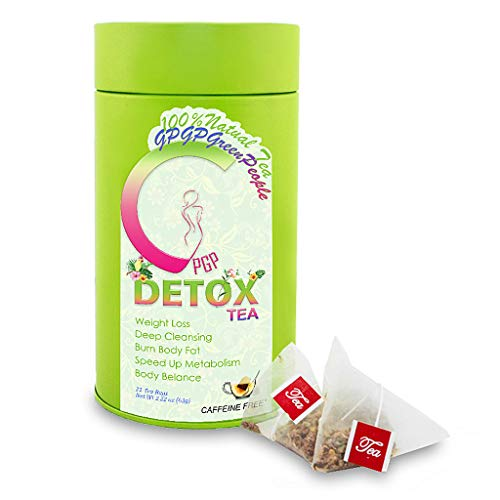 Detox Tea Diet Herbal Tea, GPGP GreenPeople Weight Loss Tea, Burn Fat Boost Your Energy, Colon Cleanse Flat, Belly Accelerate Weight Loss (21 Bags) 1 - My Weight Loss Today