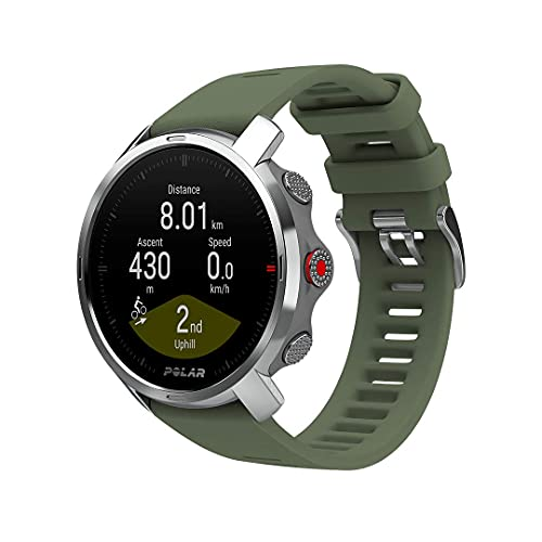 Polar Grit X, Rugged Multisport GPS Smart Watch, Ultra-Long Battery Life, Wrist-based Heart Rate, Military-Level Durability, Sleep and Recovery, Navigation, Trail Running, Mountain Biking