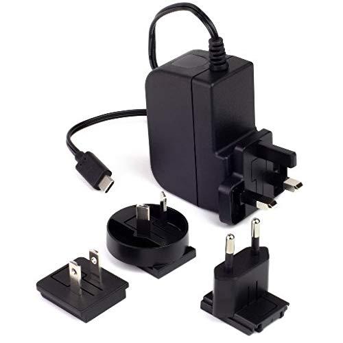 Raspberry Pi 4 - Fuente de alimentacin (5,1 V, 3 A, USB-C,...