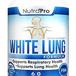 White Lung by NutraPro - Lung Cleanse & Detox.Support Lung Health. Supports Respiratory Health. 60 Capsule - Made in GMP… 11 - My Weight Loss Today