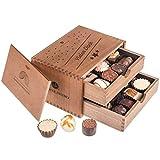 Coffret de chocolats 'Vielen dank' | Chocolat | Assortiment | Praliné | Cadeau | Offrir | Premium | Boite | Femme | Homme | Pâques | Anniversaire