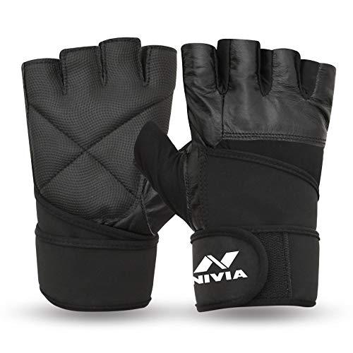 Nivia Pro Wrap Gym Gloves (L)
