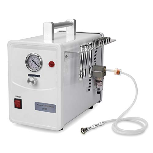 Professional Diamond Microdermabrasion Dermabrasion Machine Facial Care Device Equipment (Suction Power: 0-68cmHg) with 350 Pcs Cotton filters