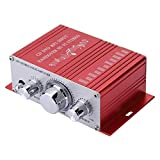Stereo Audio Amplifier, Mini Digital HiFi Bass Audio Subwoofer...