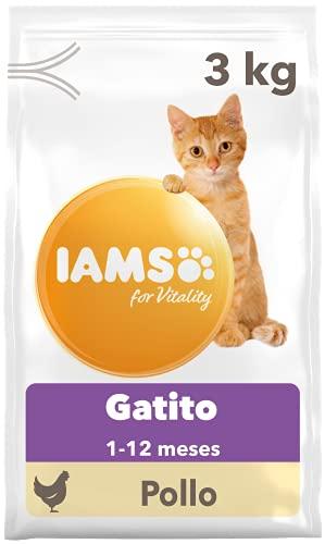 IAMS for Vitality Alimento para Gatitos con pollo fresco, 3
