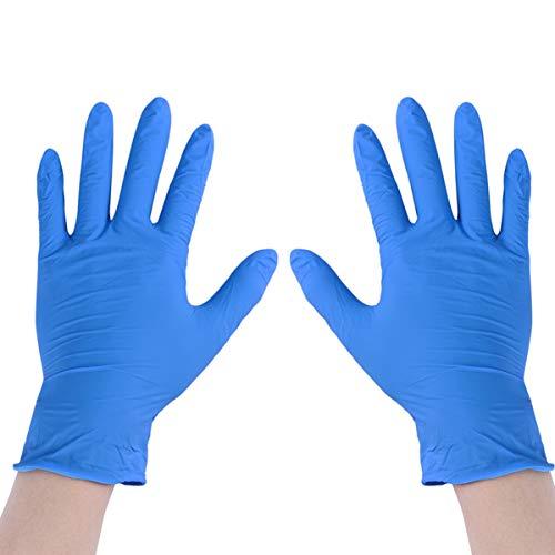 Topbathy, guanti usa e getta in nitrile, per esami medici, per uso alimentare, per la pulizia della...