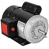 Mophorn Air Compressor Motor, 3/4 HP Single Phase Electric AC Motor 1725rpm Reversible 115V 230V 56...