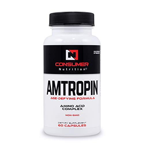 IGF-1 Growth Factor Support Best Natural Amino Acid Anti-Aging Supplement for Longevity. Supports Lean Muscle Mass, Skin Tone, Energy and Endurance.