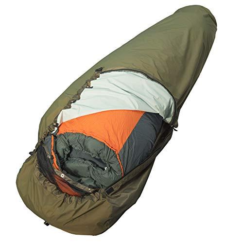 AVEN wasserdichter und robuster BIVAG Bag Biwaksack für Schlafsack Biwack Sack Schlafsackhülle 220cm mit abnehmbaren Moskitonetz Moskitoschutz Nur 690g bis 220cm Schlafsack Länge geeignet