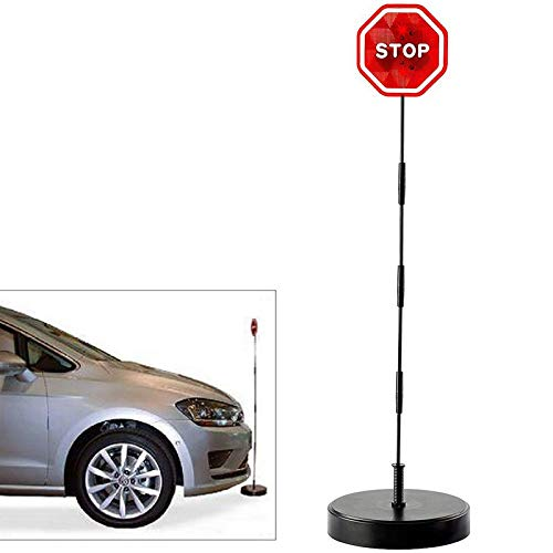 IS LED Stoppschild Einparkhilfe mit Erschütterungssensor. Parksensor Parkassistent …