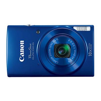 Canon PowerShot ELPH 190 Digital Camera (Blue)