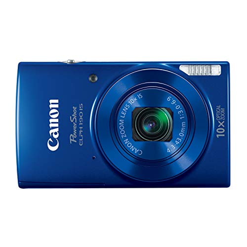 Canon PowerShot ELPH 190 Digital Camera (Blue)