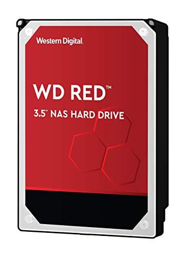 Western Digital WD Red HDD 3.5' NAS Hard Disk Interni, 5400 RPM, WD101EFAX, 10 TB