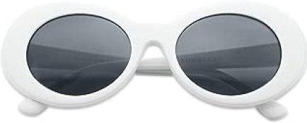 Original Classic Dark Oval Lens Kurt Cobain Inspired Nirvana Bold Trending Sunglasses