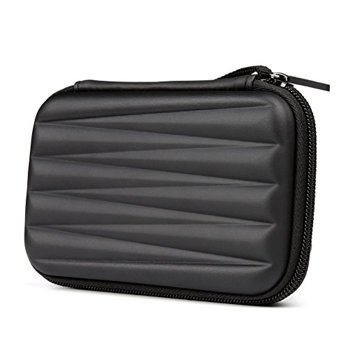 Salcar HDD Borsa custodia rigida Case Esterno per 2.5' Disco Rigido Hard Disk portabile nero