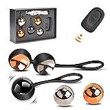 Kegel Balls Exercise Weights, Ben Wa Balls Kit for Women Bladder Control